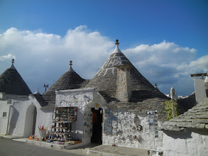 Photo: This is a double trullo that they call the Trullo Siamese.