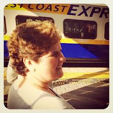 Photo: Getting ready for West Coast Express train #intercer #train #canada #britishcolumbia #vancouver #mapleridge #travel #funny #life #speed #woman #beautiful #morning #happy - via Instagram, http://ift.tt/1xHjhGu