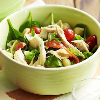 Chicken and Vegetable Pasta Salald.