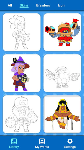 Coloring for Brawl Stars 0.1 screenshots 17