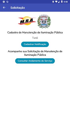 Tietê Iluminação Pública screenshot 2