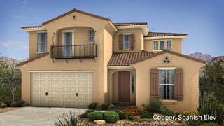 Copper II floor plan Encore II Collection by Taylor Morrison Homes in Adora Trails Gilbert AZ 85298