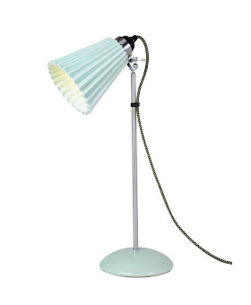 Original BTC Hector Medium Pleat Grön Bordslampa - lavanille.com