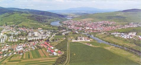 Photo: Pohľad na naše mesto Tvrdošín.
