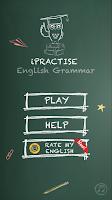 Screenshot of iPractise English Grammar