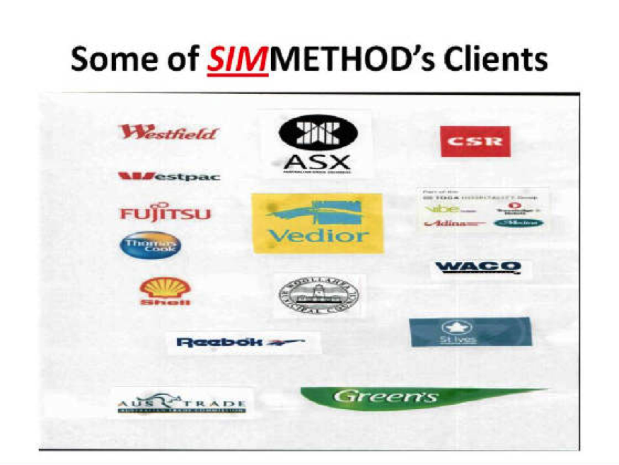 SIMMETHOD's Clients