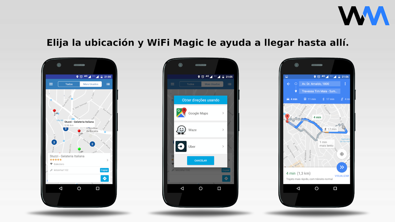 WiFi Magic by Mandic Passwords: captura de pantalla
