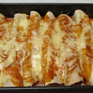 Cheesy Chicken Enchiladas.