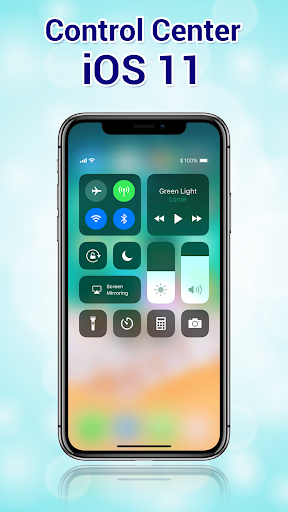Phone X Launcher, OS 12 iLauncher & Control Center  screenshots 2
