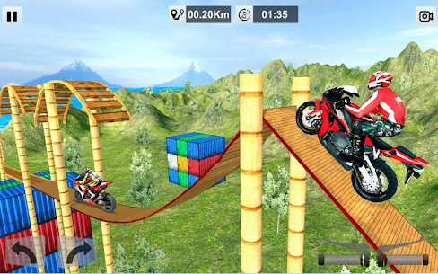 Crazy Bike Stunt Track MOD Apk (Unlimited Coins) 9