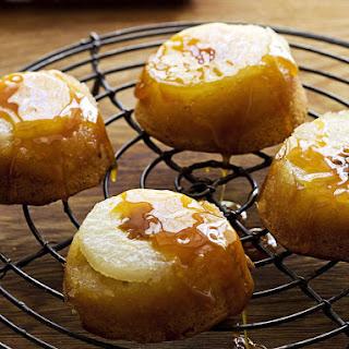 Asian Pear Puddings.