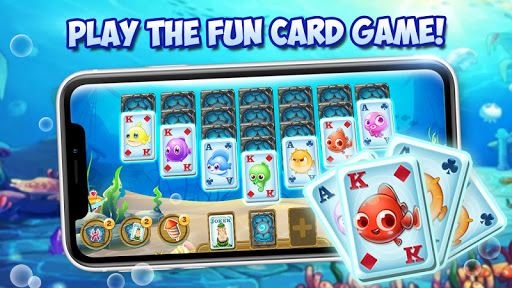 Ocean Fish Solitaire apktreat screenshots 2