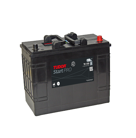 Startbatteri 125Ah Tudor Exide LxBxH:349x17x235