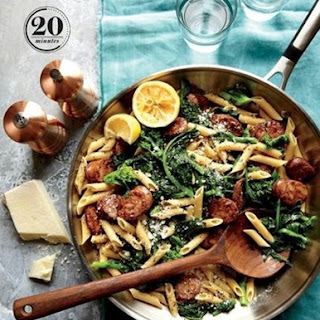 Weight Watchers Chicken Sausage And Broccoli Rabe Penne