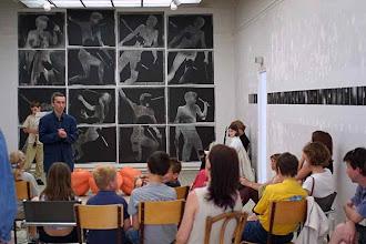 """Photo: © Olivier Perrot photogrammes série """"Combats"""" Expo Centre d'Art Contemporain de Clamart 2002"""