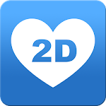 2Date Dating App, Love and matching Icon