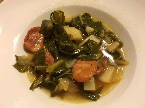 Caldo Verde Soup Recipe