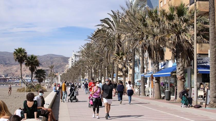 La incidencia del covid sigue mejorando en toda la provincia de Almería.
