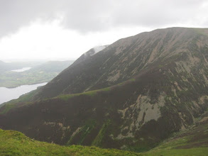 Photo: ... Lad Hows ridge down to Crummock Water.