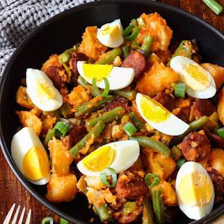 Spanish Chorizo Potato Salad.