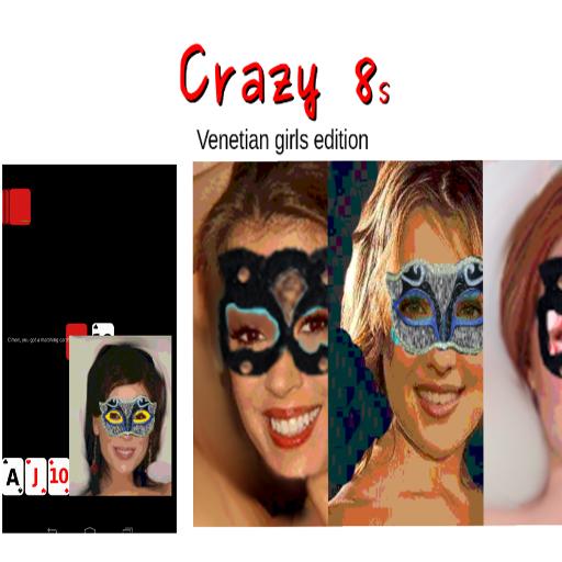 Crazy 8 Venetian girls edition