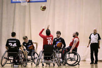 Photo: Photo taken during match between CELTS 2 and Tornados at Talybont Sports Centre, Cardiff Uni on Sunday 26 April 2015