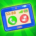 Babyphone & tablet - baby learning games, drawing icon