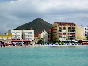 Photo: St. Maarten from water taxi
