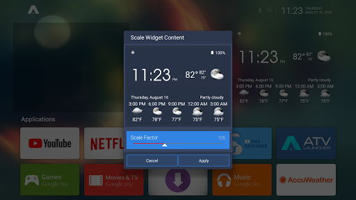 Screenshot for ATV Launcher Pro in United States Play Store