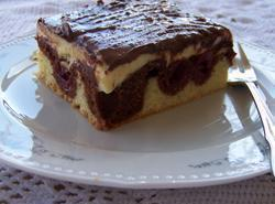 Donauwellen - Three Layer Pudding Cake Recipe
