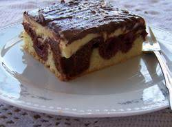 Donauwellen - Three Layer Pudding Cake Recipe