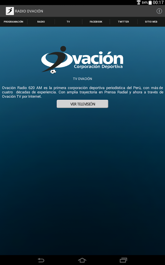 Radio Ovación- screenshot