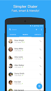 Dialer, Phone, Call Block & Contacts by Simpler 1