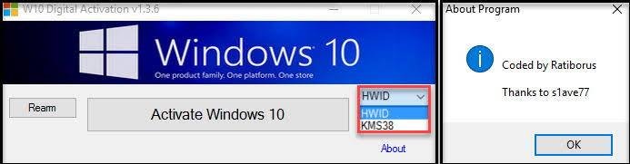 Active Windows 10