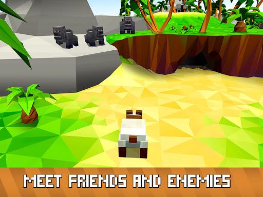 Blocky Panda Simulator - be a bamboo bear! 2.2.4 screenshots 6