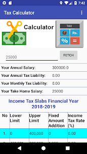 Pakistan Income Tax Calculator 2018-2019 App Download For Android 2