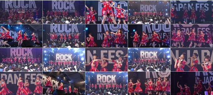 180929 NGT48 Part - Rock In Japan 2018 Day1