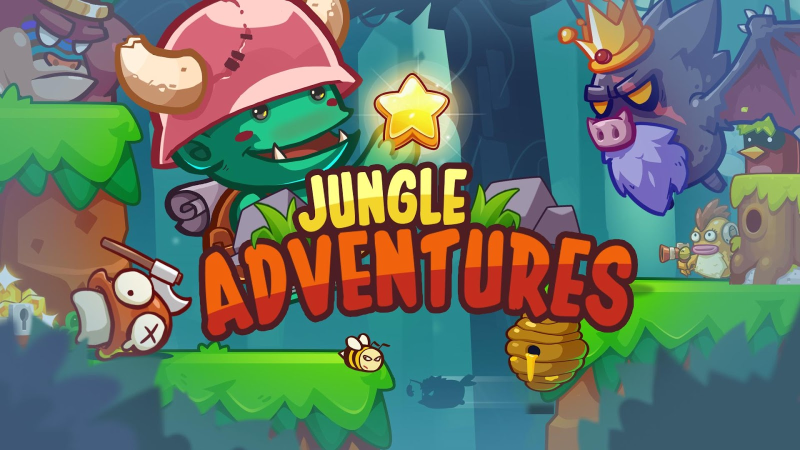 jungle adventures android apps on google play. Black Bedroom Furniture Sets. Home Design Ideas
