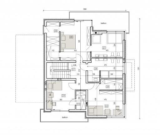 AN 005a - Rzut piętra