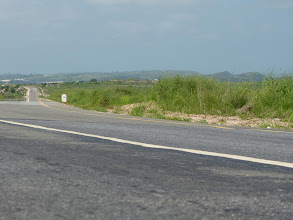 Photo: On the road to Muxima...
