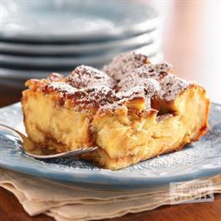 Maple Breakfast Bread Pudding