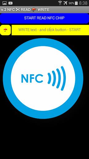 NFC метка - Запись Чтение