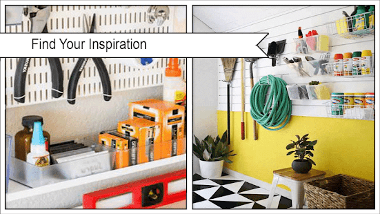Colorful Garage Organization Guides - náhled