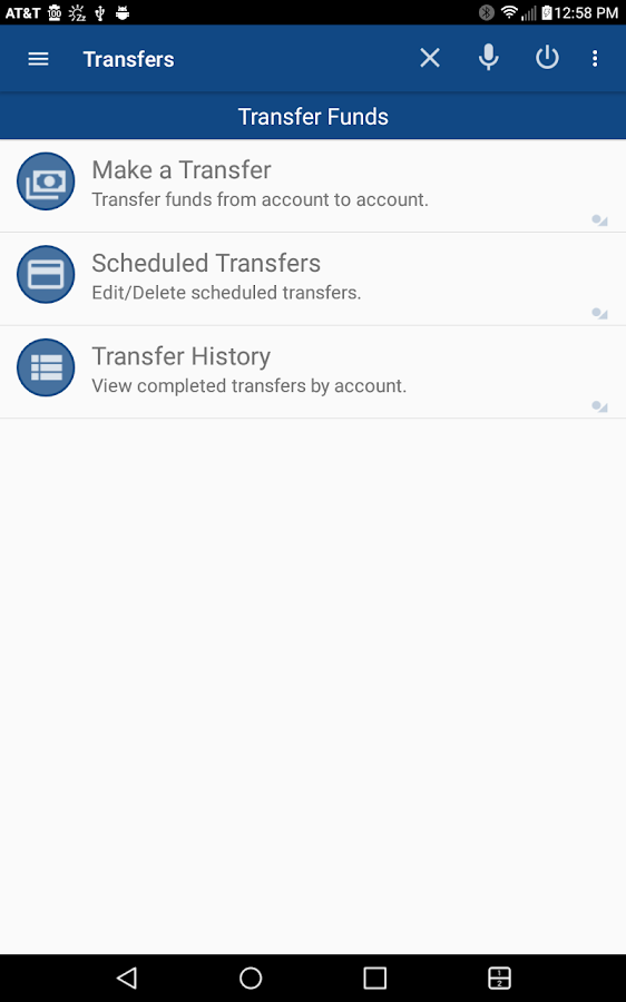 Charter Bank Mobile- screenshot
