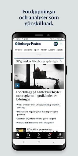 Gu00f6teborgs-Posten 5.1.0 screenshots 2