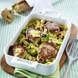 Creamy Pork and Leek Casserole