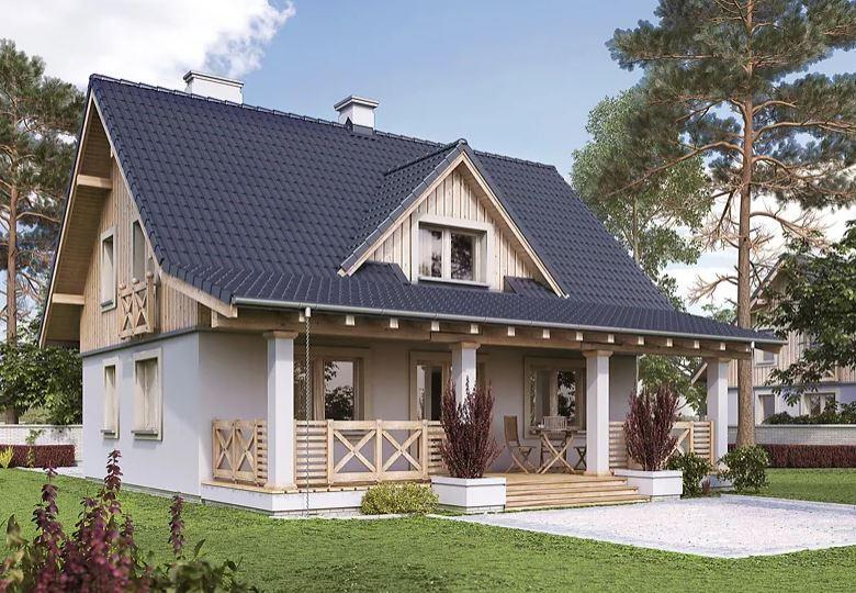 Projekt domu Malinowy KO