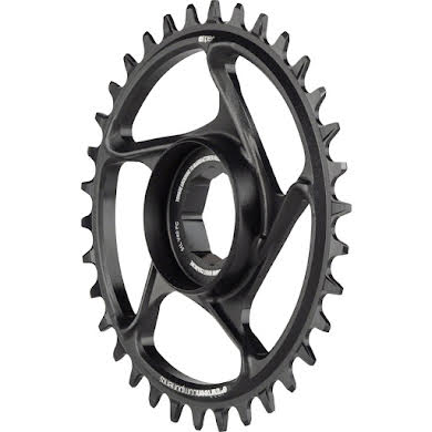 _OLD_Cliff Bar_DNU e*thirteen by The Hive e*spec Aluminum Direct Mount Chainring for Brose S Mag, Black