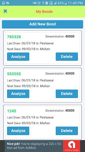 Bonds Analytica screenshot 3