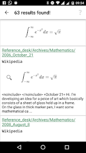 SearchOnMath- screenshot thumbnail